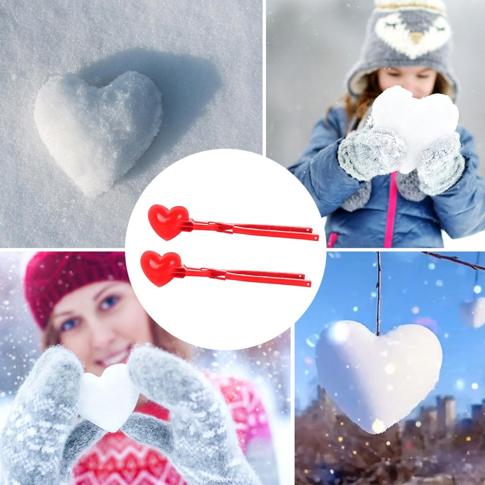 Winter plastic sneeuwbal maker clip kids outdoor game sneeuw bal - Outdoor plezier en sport - Foto 2