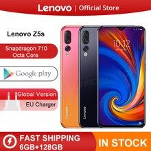 Original Global Version Lenovo Z5s Snapdragon 710 Octa Core 6GB 128GB Mobile Pho