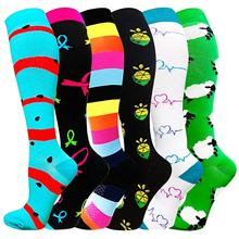 Stockings Relief-Socks Running Sports Black 20-30 Best Mmhg for Anti-Fatigue Pain Fit-For