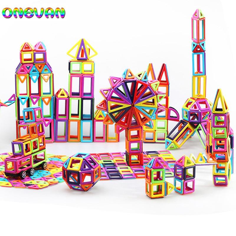 Small Size Plastic Magnetic Building Blocks Construction Blocks Set Magnets Blocks Educational Toys for Children Gift Kids|Magnetic|   - AliExpress