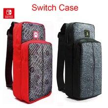Mariosกระเป๋าเดินทางไหล่กระเป๋าสำหรับNintendo SWITCHเกมคอนโซลอุปกรณ์เสริมNintend SWITCH NSป้องกันกระเป๋า