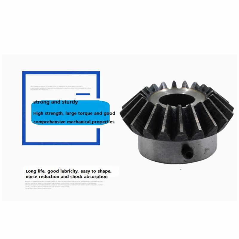 1 шт. коническая шестерня 1,5 модуль 12 зубов ID = 6 мм/8 мм 90 градусов стальные шестеренки с винтами cnc части