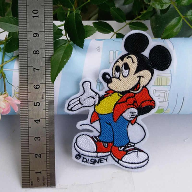 Disney Grand Mickey Mouse caractère brodé Appliques Patch A Coudre ou Fer Sur