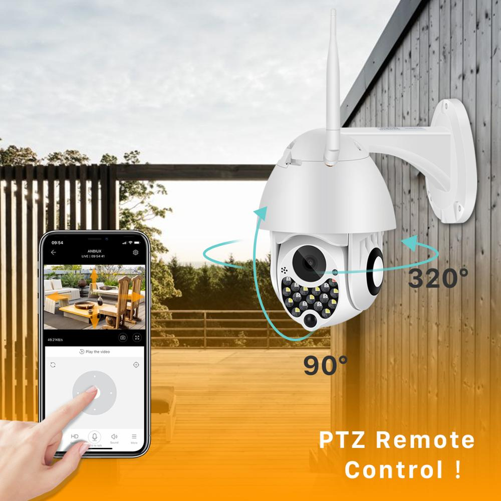1080P Outdoor Wifi PTZ Camera with Siren Light Auto Tracking Cloud Home Security IP Camera 2MP 1080P Outdoor Wifi PTZ Camera with Siren Light Auto Tracking Cloud Home Security IP Camera 2MP 4X Digital Zoom Speed Dome Camera