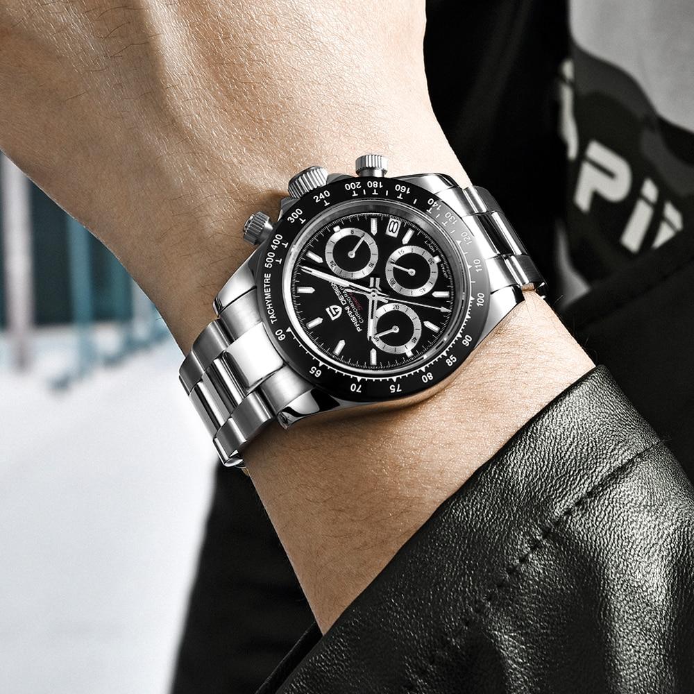 PAGANI DESIGN 2020 New Men's Watches Quartz Business watch Mens Watches Top Brand Luxury Watch Men Daytona Chronograph Relogio Masculino free drop shipping (39)