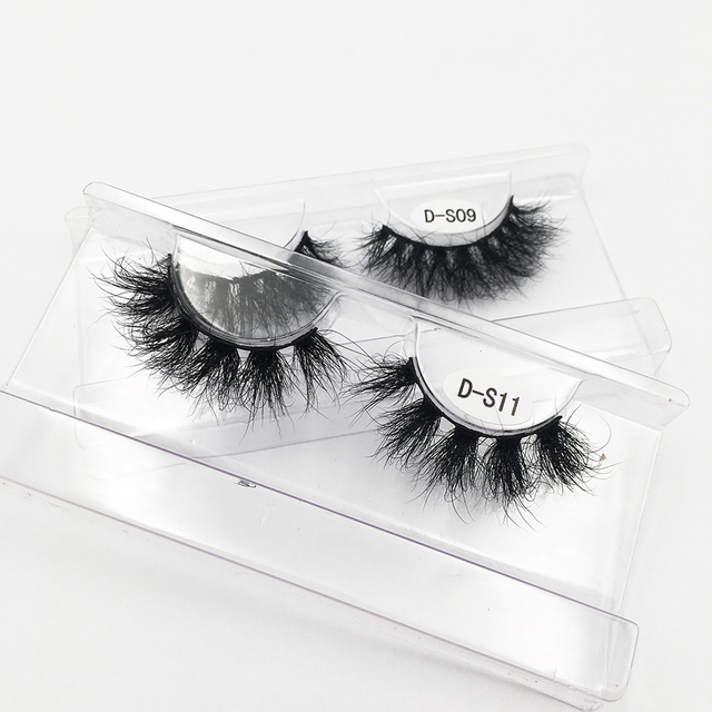 RED SIREN Lashes Mink Eyelashes Real Mink Hair Fluffy Messy Soft Natural Lashes Makeup 3d Mink Lashes 5
