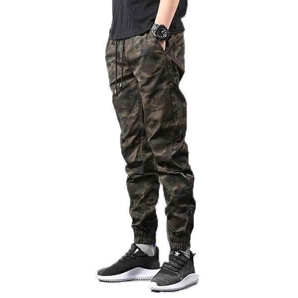 Brand Nieuwe Mannen Camouflage Broek Designer Katoen Mannelijke Straat Toevallige Harembroek Voor Mannen Plus Size Cargo Broek