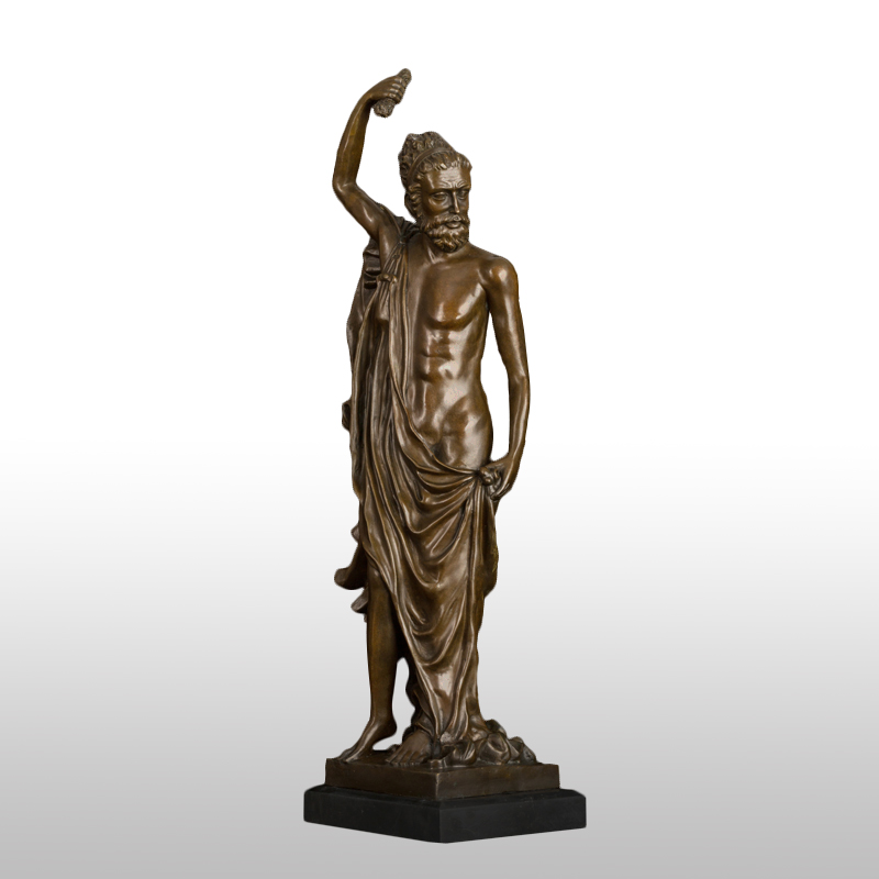 Christmas Promotion sales Bronze Greek mythology  sculpture Art collection god statue for gift