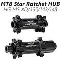 MTB DT M350 звездчатая трещотка ступица прямой диск 28H 6-болт концентратор 135/142/Boost 148 мм для HG SRAM XD Micro Spline 12 скоростных втулок