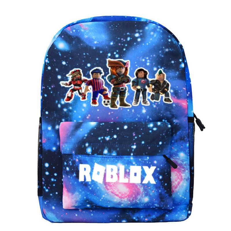 Blue Starry Kids Rugzak Schooltassen Voor Jongens Met Anime Rugzak Voor Tiener Kids School Rugzak Mochila