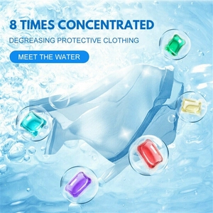 Image 5 - 10pcs Laundry Ball Beads Portable Laundry Wash Ball Gel Stains Film Bead Ball Lasting Fragrance Antibacterial Protective Cleaner