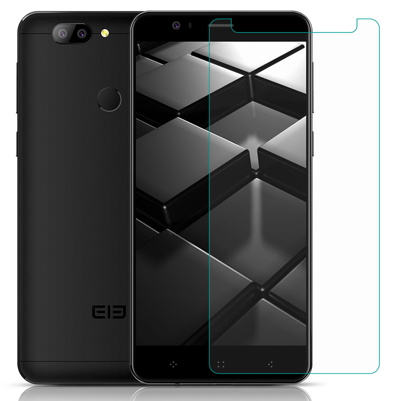 Tempered Glass For Elephone U2 P8 3D Max A6 Mini A4 Pro A5 lite Soldier 9H 2.5D Protective Film LCD Screen Protector cover
