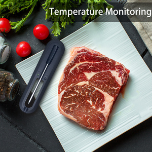 Image 4 - דיגיטלי בשר מדחום מטבח חכם אלחוטי בישול מנגל מזון מדחום Bluetooth תנור גריל מדחום בדיקה חיצוני מתנה