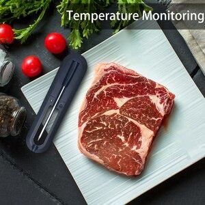Image 4 - Termómetro Digital para carne, cocina inteligente, inalámbrico, para barbacoa, comida, horno, Bluetooth, parrilla, termómetro, SONDA DE REGALO exterior