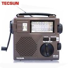 TECSUN GR-88 GR-88P Digital Radio Empfänger Notfall Licht Radio Dynamo Radio Mit Gebaut-In Lautsprecher Manuelle Hand Power