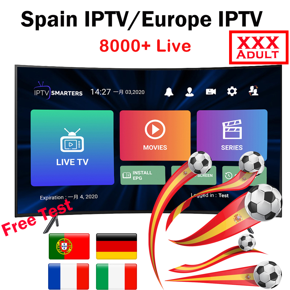 Subscription 12 Months Spain IPTV M3U Spain Europe Global IPTV Code HD World Live TV Adults 10000+ Italy Duth IPTV Espa A