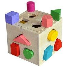 Детские блоки в форме матча учебная доска детские игрушки геометрическая форма Интеллект коробка Детские Игрушки для раннего обучения