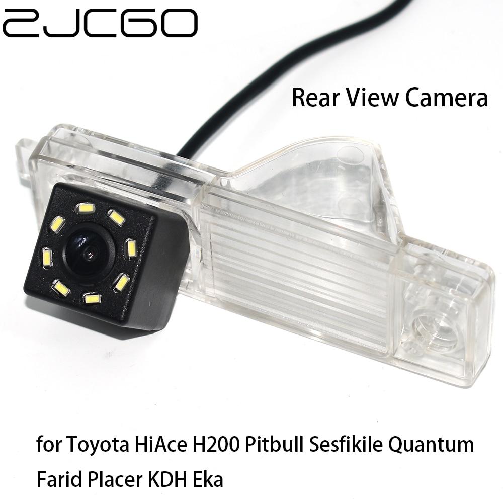 ZJCGO Car Rear View Reverse Back Up Parking Night Vision Camera For Toyota HiAce H200 Pitbull Sesfikile Quantum Farid Placer KDH