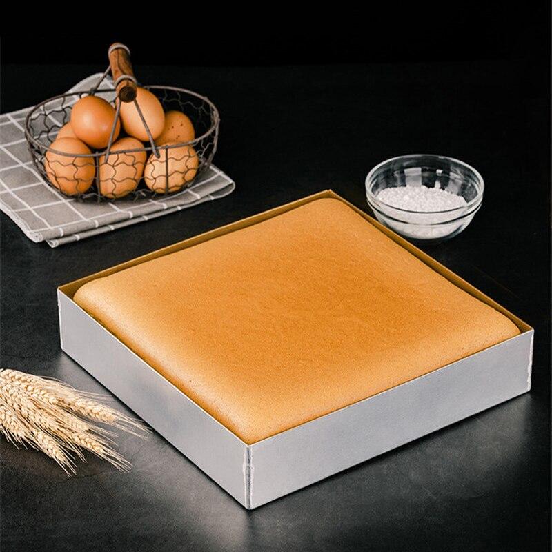 Casseroles multifonctions à usage domestique ou commercial biscuits plats à pain poêle en alliage d'aluminium antiadhésif