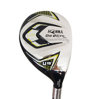 New Men Golf clubs HONMA BEZEAL 525 Golf Hybrids wood U19 clubs Golf wood Graphite shaft R Golf shaft Cooyute Free shipping