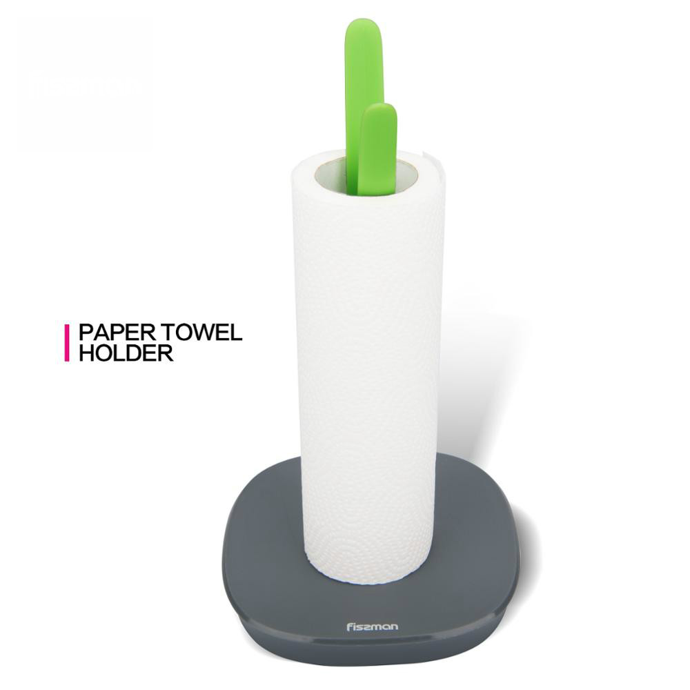 Soporte de toalla de papel con soporte equilibrado