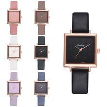 Часы наручные женские кварцевые с кожаным ремешком модные роскошные