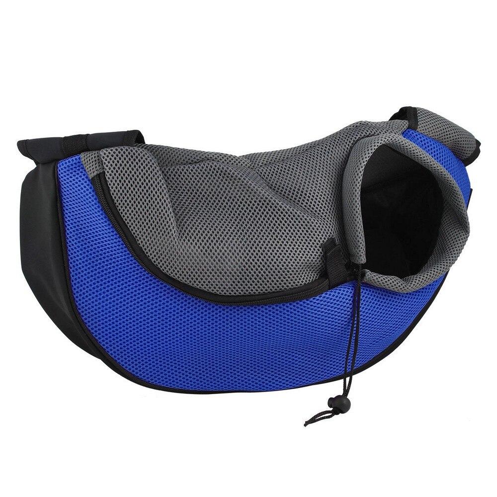 19 Pet Carrier Bag Puppy Dog Outdoor Travel Sling Shoulder Bag Comfortable Mesh Oxford Backpack Front Bags S/L 15