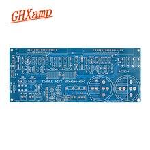 Ghxamp amplificador de potência de filme grosso, placa vazia de pcb, canal duplo, alta corrente para STK4036-STK4050 STK4040XI-STK4048XI, todas as séries