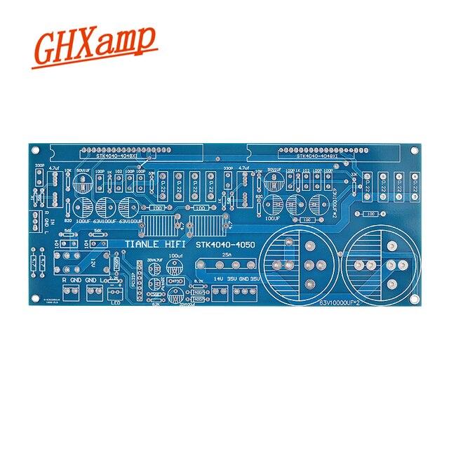 GHXAMP فيلم سميك مكبر كهربائي ثنائي الفينيل متعدد الكلور لوحة فارغة ثنائي القناة عالية الحالية STK4036 STK4050 لجميع STK4040XI STK4048XI