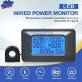 100A AC110-250V LCD Digital Panel Power Watt Meter Monitor Voltmeter Amperemeter Spannung Strom Tester Anzeige für Home Appliance