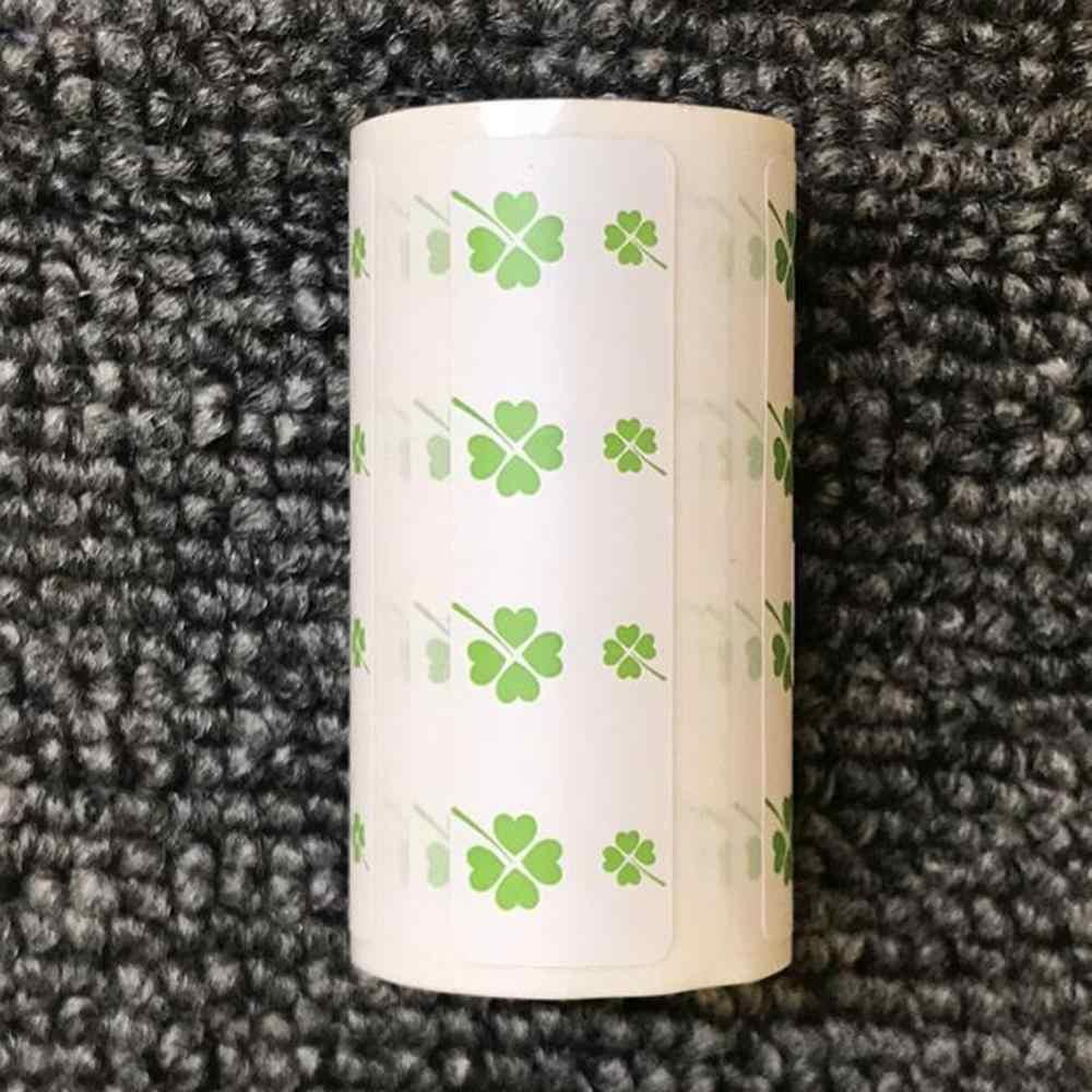 ブランド-新色ラベルが添付に自己粘着熱印刷用紙peripage 50 × 15ミリメートルhd熱印刷用紙