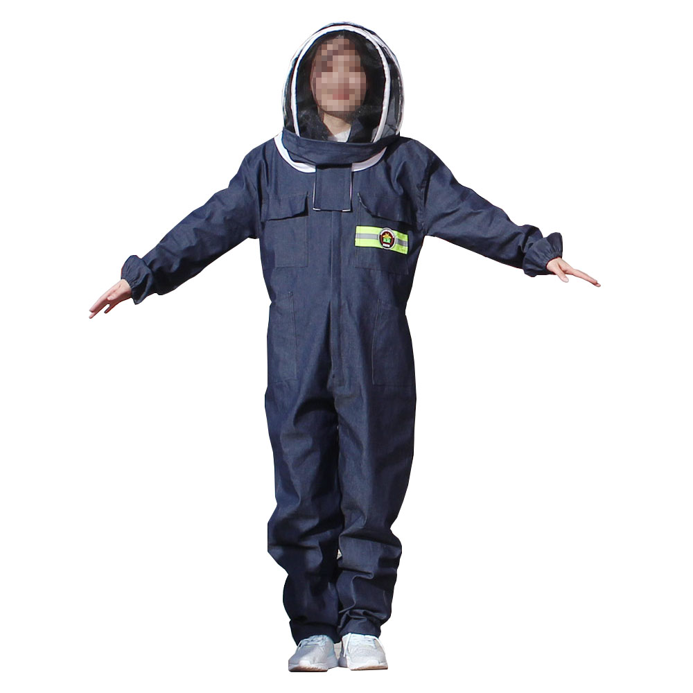 1set Beekeeping Suit Breathable Wear-resistant Anti Sting And Honey Collection For Professional Beekeeper Cowboy Style