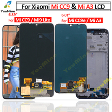 For Xiaomi Mi CC9 LCD Display Touch Screen Digitizer M1906F9SH M1906F9SI Assembly Replacement For Xiaomi mi a3 LCD