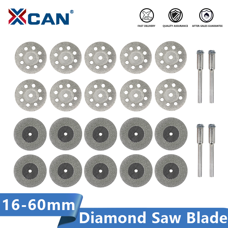 XCAN Diamond Saw Blade 16-60mm Rotary Tool Mini Cutting Discs Circular Saw Blades