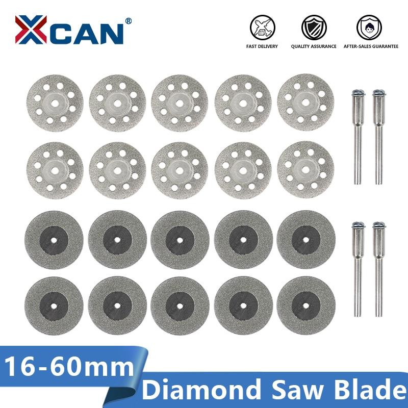 XCAN Diamond Saw Blade 16-60mm Rotary Tool Mini Cutting Discs Circular Saw Blades