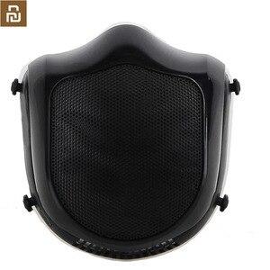 Image 2 - Q5S 전기 안티 헤이즈 살균 마스크 호흡기 PM2.5 호흡 필터 재사용 가능한 입 커버 전기 마스크 공급 공기