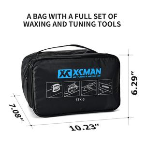Image 2 - XCMAN Ski Snowboard Complete Waxing And Tuning Kit Storge Bag For Travling and Storge Tools Pouch With Zipper With Waxing Iron
