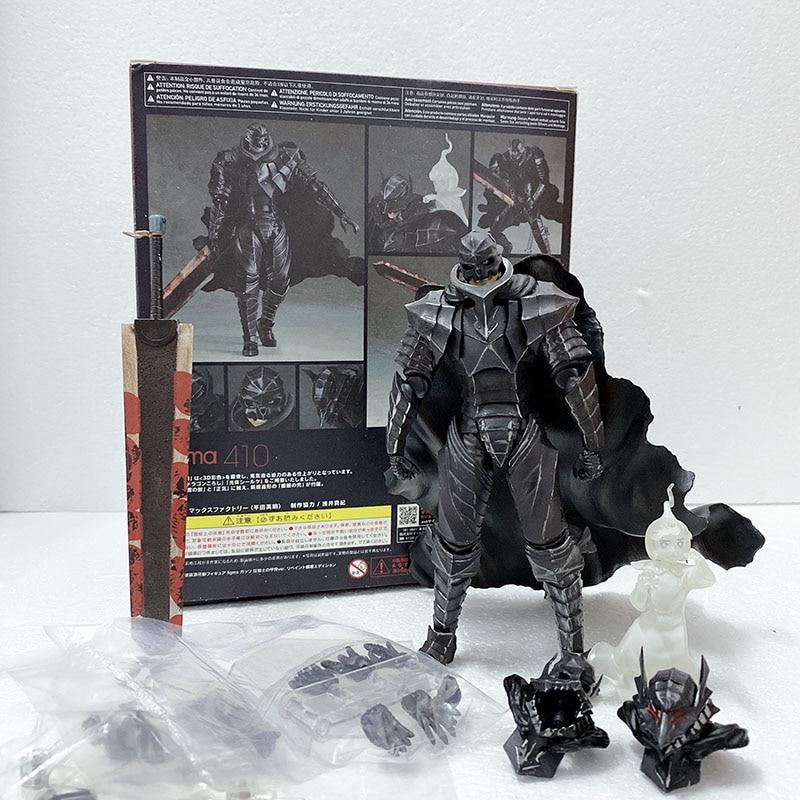 figma 410 berserk preto espada figura de acao collectible modelo brinquedo boneca presente para o natal