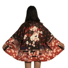 Kimono Women Men Japanese Yukata Female Women Asian Clothes Kimono Cardigan Shirt Women Traditional Streetwear Women