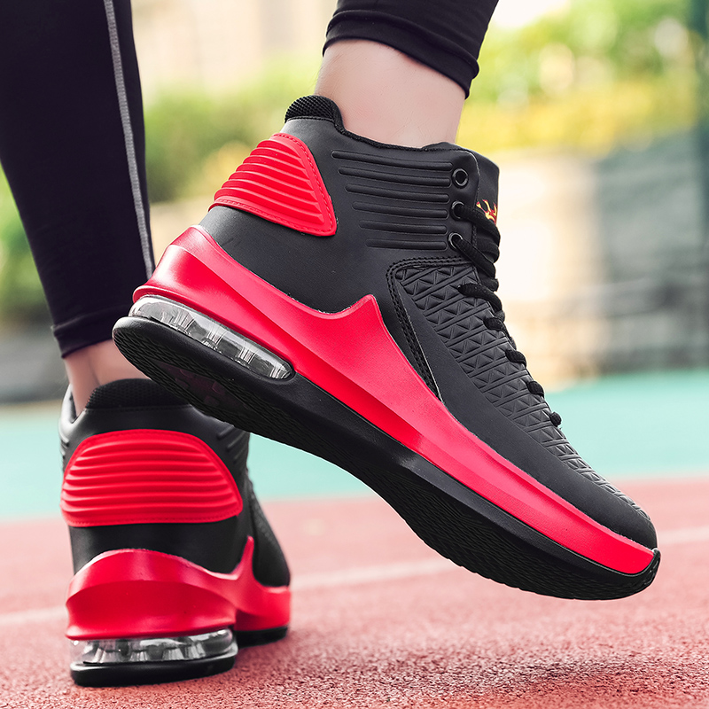Mens Basketball Shoes High Top Ai Sole Basketball Sneakers Men Zapatos Baloncesto Hombre Non-slip Sport Jordan Shoes Footwear