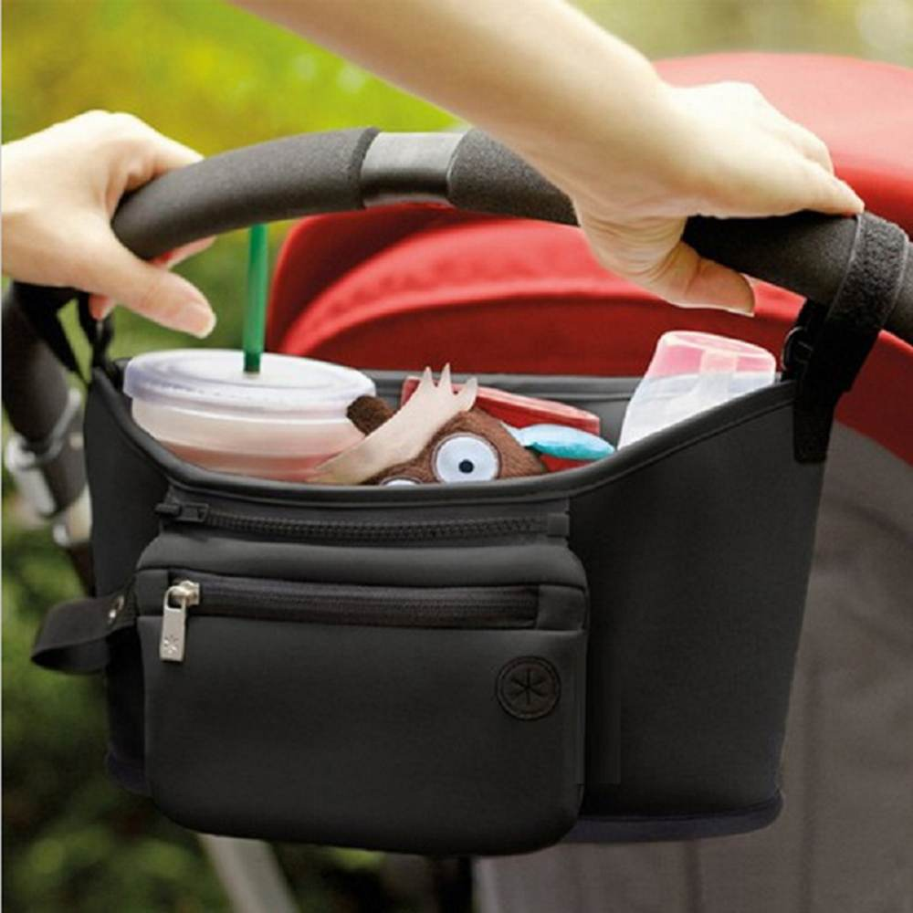 Multifunction Diaper Bag Stuff Nappy Mummy Handbag Baby Stroller Bag For Mom Travel Hanging Carriage Pram Cart Basket Bottle Bag