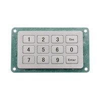 Teclado industrial da matriz do teclado metálico da prova do vândalo do teclado da matriz barato feito na china