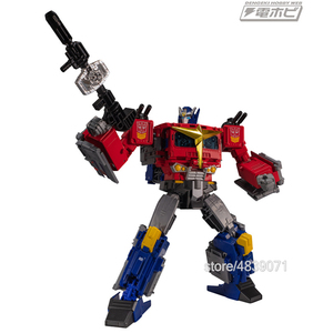 Image 2 - TKR jouets figurines daction Version JPN, sans alliage, camion léger silencieux, génération, sélectionne la Transformation du commandant Star OP