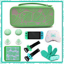 Nintend Switch Game Card Case Storage Bag Animals Crossing Cover Shell  For Nintendo Switch Gaming Console JoyCon Thumb Grip Cap