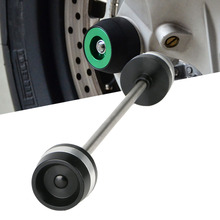 Buy For Ducati  MTS1200 MULRISTRADA950 1200 Scrambler400  800 X/DIAVEL CNC Front Axle Fork Wheel Slider Crash Falling Protector directly from merchant!