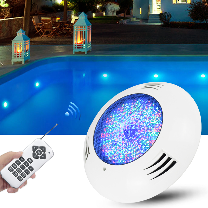 High quality LED simming pool light IP68 waterproof underwater lights AC12V swimming pool wall mounted lamp with remote control
