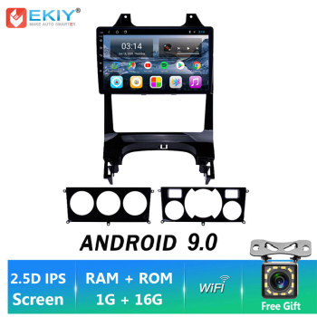 EKIY IPS Android 9.0 Car Radio GPS Navigation For Peugeot 3008 2013-2015 Auto Stereo Multimedia Player BT FM DVD Head Unit Wifi image