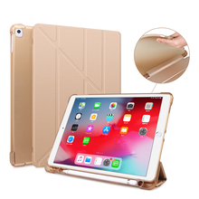For ipad pro 10.5 leather case ipad tablet cover ipad 10.5 case pencil holder Universal ipad pro 10.5 case clear ipad cover 10.2 цена и фото