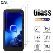 3Pcs Tempered Glass For Alcatel 1C 1X 3L 3X 3C 2019 Glass Screen 9H Tempered for Alcatel 1B 1S 1SE 1A 1V 3X 2020 Protective Film