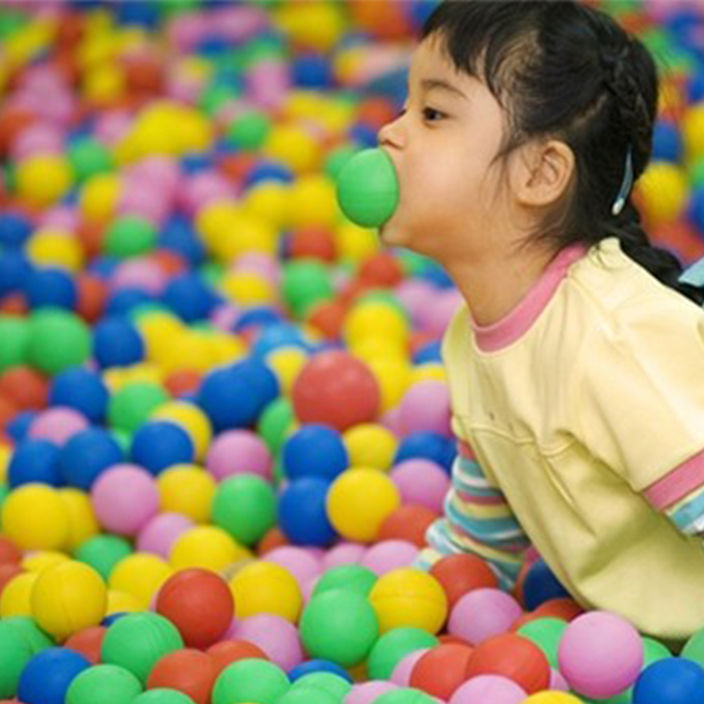 <font><b>200</b></font> Pcs/Lot Soft Plastic Ball Pit Eco-Friendly Colorful Balls Water Ocean Wave Ball Toys For Boys Ball Pool Toy 5.5/<font><b>7</b></font> cm image
